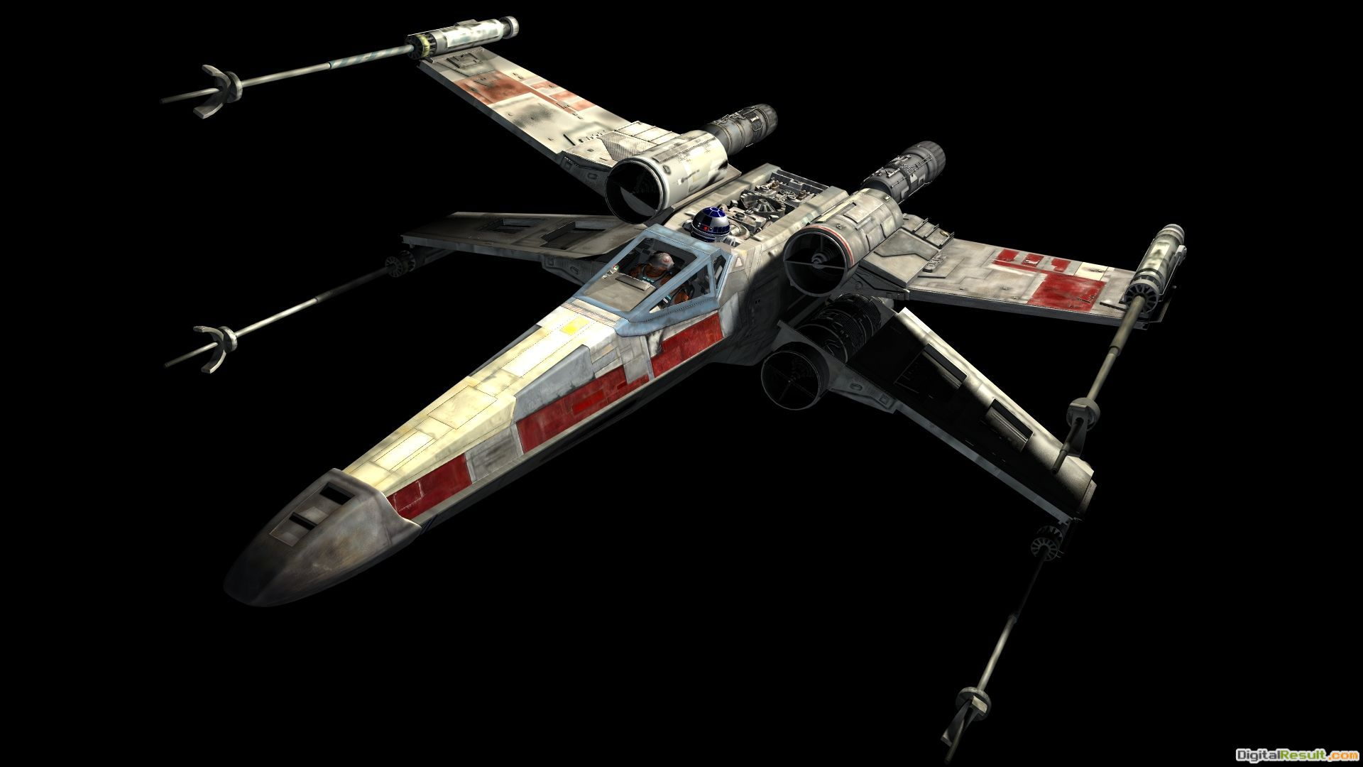 This is the new X Wing fighter from \'Star Wars: Episode VII\' | The 1685