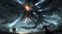 Alien ship with tentacles wallpaper1034096 1448