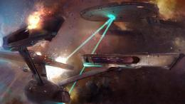Star Trek Battle Concept Art Wallpaper 1920x1080 | Full HD Wallpapers 601