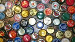 Beer Cap Wallpaper Beer Bottle Caps Wallpaper 502