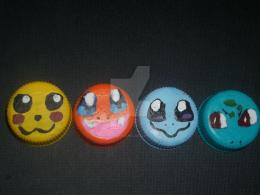 Bottlecap Arts: Pokemon Style by PsycoBunnyRachel on DeviantArt 1271