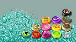Download Soda bottle caps wallpaper in Other wallpapers with all 1675