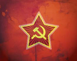 Red Communist Star Soviet star wallpaper by 632