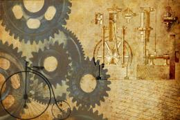 steampunk wallpaper by satyrgod scraps decided to make a wallpaper no 1503