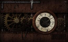 Steampunk clock wallpaper1067784 1963
