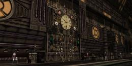 Steampunk Wall Clock Train Station2 by scifilicious on DeviantArt 699