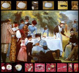 Download Recreation of a Victorian Painting for a well known museum 1890