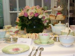 High Tea Table Settings 1149