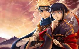 Download the Naruto anime wallpaper titled: \'Hinata with Naruto\' 1997