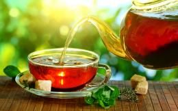 Good morning nice day with hot tea | HD Wallpapers Rocks 184