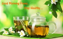 Make your Morning a healthy Good Morning With Gree Tea Pictures 551