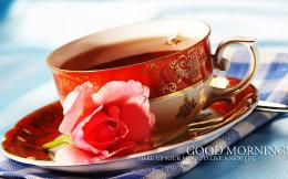 Good morning excellent tea cup wallpaper | HD Wallpapers Rocks 1980
