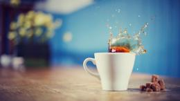Good Morning wishes tea cup HD wallpaper for desktop wallpapers] 328