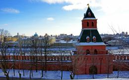 Wallpaper moscow, moscow, tainitskaya tower, kremlin wall, the kremlin 1720