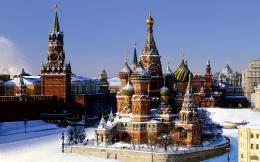 View of the Kremlin, Moscow wallpapers and imageswallpapers 1221