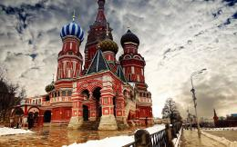 Buildings Wallpapers,Russian miracle construction Kremlin wallpaper 12 142