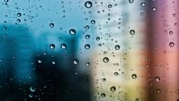 Water Drops On Glass | Hd Wallpapers 757