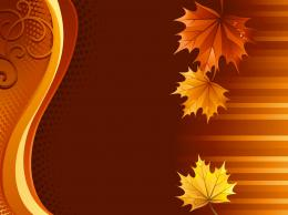 Autumn Leaves Background 276