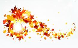 Autumn leaves wallpaperVector wallpapers#20413 1840