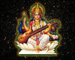 Wallpapers » Maa Saraswati Sharde » Goddess Saraswati Maa Wallpapers 1974