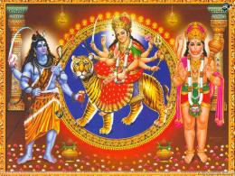 Durga Mata, Hindu Goddess Durga Maa | Most Beautiful Free Wallpapers 1994