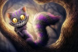 Cheshire CatIllustrations, MoviesCoolvibe – Digital Art 1115