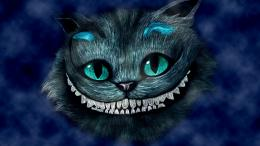 smiling Cheshire Cat Wallpaper, Desktop Wallpapers, Free Wallpapers 1457