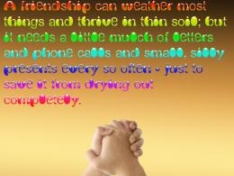 Colorful Friendship Day Quotes Wallpaper 170