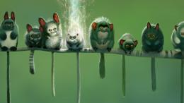 Cartoon Cute Monsters Hd Wallpaper | Wallpaper List 1890