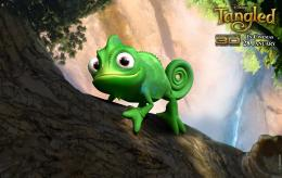 Rapunzel\'s pet chamaleon in Tangled HD wallpaper and background photos 690