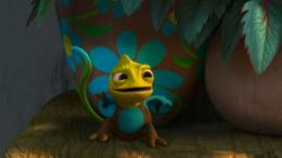 Tangled, cute, chameleon, pascalWallpapersPics 1405