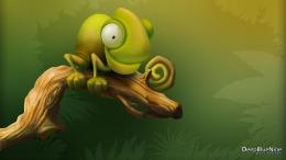 Cute Chameleon wallpaper 638