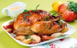 delicious food chicken roast hd wallpaper 1618