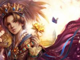 Handsome Prince Look Butterfly Fantasy 629