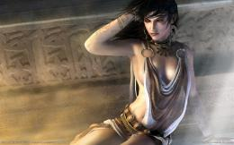 Prince of Persia: The Two Thrones, brunette, game, girl, prince of 269