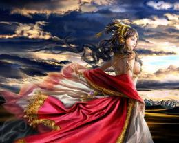 Fantasy Princess Wallpaper 1280x1024 Fantasy, Princess, CGI 1255