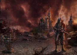 Apocalyptic Moscow Man Warriors Fantasy prince persia sci fi wallpaper 1252