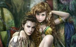 FantasyPrince and Princess ArtFree Desktop Wallpaper s 1567