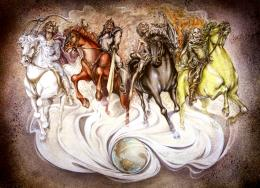 THE FOUR HORSEMEN OF THE APOCALYPSE 1680