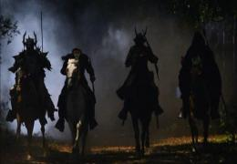 Four horsemen of apocalypse war headless tv wallpaper 1236