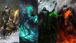 The 4 horsemen of the Apocalypse : wallpapers 273