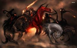Four Horsemen of the Apocalypse wallpaperFantasy wallpapers 1525