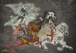 Four Horsemen Of The Apocalypse Wallpaper The four horsemen of the 653