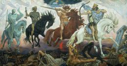 The Four Horsemen of the Apocalypse, Painting of the Four Horsemen of 444