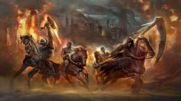 the four horsemen of the apocalypse fantasy hd wallpaper 1920×1080 1722