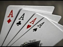 Download Four of a kind ace wallpaper in Games wallpapers with all 334