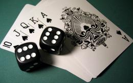 Cards and dice wallpaper1206815 1917