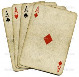 View image Poker Four Aces 1314