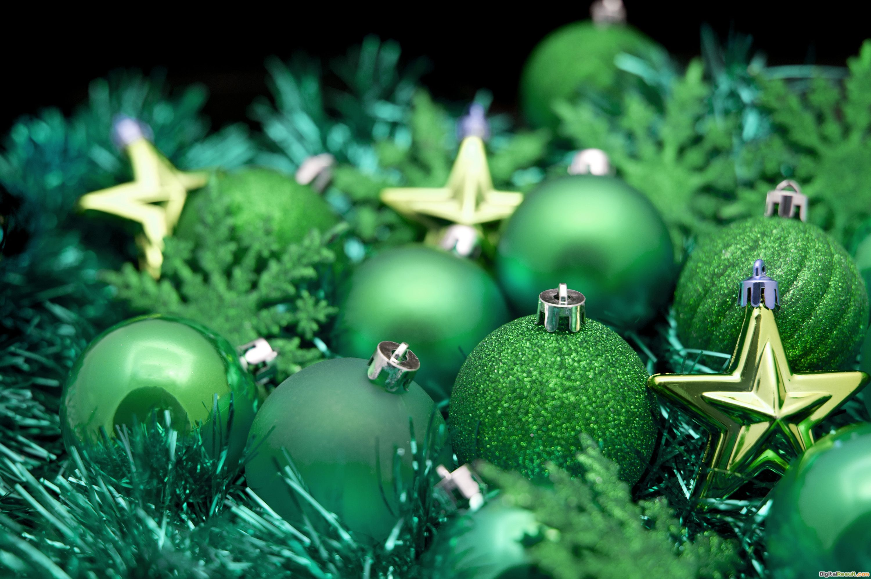 Photo of Green and gold Christmas | Free christmas images 415