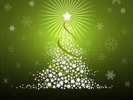Desktop Wallpaper Miscellaneous Holidays Vector Green Christmas Tree 622
